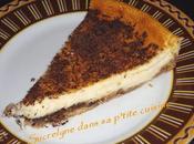 Tarte fromage blanc pépites chocolat