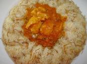 Curry poulet façon Manel