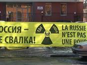 Greenpeace mobilisée contre déchets nucléaires, Russie aussi
