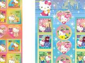 nouveaux timbres Hello Kitty Japon