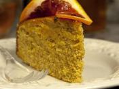Gâteau semoule blé, amandes, oranges cardamome verte