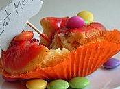 Cupcakes 'Alice' Framboise Citron pour Party Chapelier