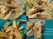 Tranches croquantes amandes-pistaches-cranberries