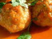 Boulettes cajou noix coco Cashew meatballs