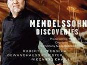 Raretés décevantes Mendelssohn