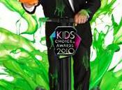 Kevin James test slime pour Kids Choice Awards