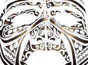 Tatouage visage Maori.