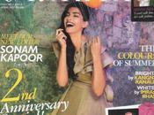 Sonam Kapoor couverture Grazia édition avril 2010