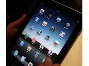 défauts l'iPad…