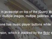 jbGallery, galerie d'images plein écran