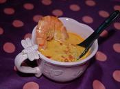 soupe thaï crevettes lait coco