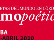 Cosmopoética Cordoue poésie