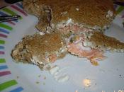 Croques saumon/tartare