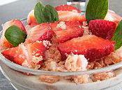 Mousse mascarpone banane fraise