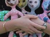 semaine prochaine Poupées Laïs seront exposées Galerie Mandy'Art Toulouse