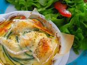 flan courgettes fromage blanc
