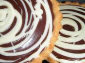 Tartelettes choco framboises