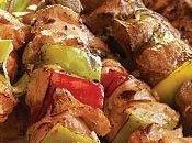 Brochette poulet souvlaki