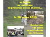 Nettoyage Chemins