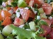 """""""Tour monde saveurs"""" l'entrée avec Liban Salade Fattouche"""
