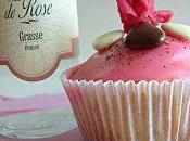 Cupcake l'eau Rose pour Fête Mères