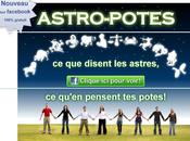 Astro-potes, l'application Facebook fait emailing