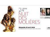 THEATRE: 24ème Nuit Molières/The 24th Molière Awards