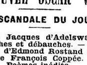 juillet 1903, l'affaire Adelsward-Fersen continue