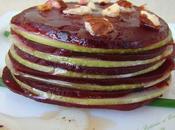 Mille-Feuilles Betterave Pomme Croustillant noisettes