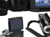 Camescope Solaire avec Ecran Adieu problemes batteries