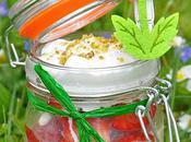 Petits bocaux: Trifles meringués Fraise Kiwi