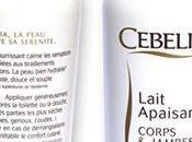 Revue: Lait apaisant Cebelia