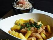 Fricassee poulet mangues basmati