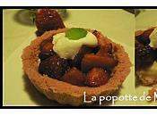 Tartelettes fraise chocolat blanc