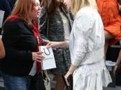 Caroline Sieber avec Emma Watson