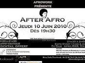 After Afro. Jeudi juin
