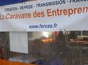 Plein soleil pour l'étape Caravane Entrepreneurs Strasbourg