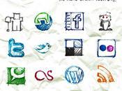Icônes manuscrites pour inspirer prochains webdesign
