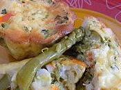 Flan asperges surimi saveur crabe