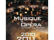 Musique Opéra programmes l'été Italie