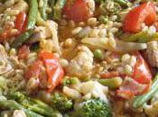 Poêlée petits légumes façon risotto