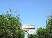 champ Champs Elysées était!