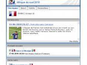 Recevez l'actualité direct FIFA.com affichez couleurs votre équipe dans Google Chrome