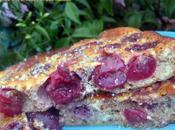 Gâteau brousse cerises