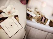 Décoration mariage tropicale fleurie (chic) avec accessoires naturels
