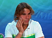Wimbledon 2010 Vidéo Interview Rafael Nadal (22/06/2010)