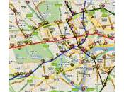 Carte métros Londres direct