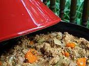 Tajine poulet légumes marocaine