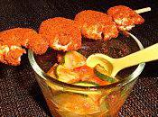 Verrine tomates, courgettes, crevettes paprika (par Virginie)