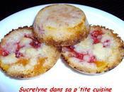 Tartelettes crumble fraise-abricot